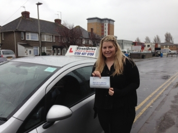 Congratulations to Amelia Bishop who passed her driving test 1st Attempt on Tuesday 9th March 2016 very well done<br />