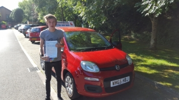 Bradley was excellent calm encouraging and patient Passed 1st time with ONE driving fault Can not recommend StreetDrive enough Thank you so much<br />