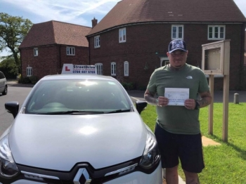 "Beep, beep, congratulations ""Ben Bissington"" who passed ""first attempt"", at Poole DTC, just the ""TWO"" driving faults, very well done.<br />