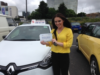 Louise was amazing as I was a extremely nervous driver and she was very patient with me I now feel comfortable driving a car which I didnacute;t think was possible and I wouldnacute;t of been able to do it without her<br />