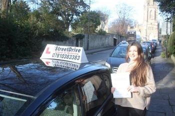 Had a really good experience with StreetDrive Phil Harris was a great instructor - calm clear and thorough<br />