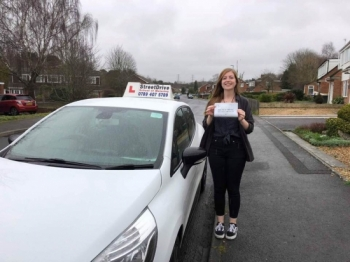 "Beep, beep, congratulations to ""Eden Lynch' who passed her driving test this morning at Poole DTC, and at the ""1st attempt"", we are ALL delighted for you.<br />