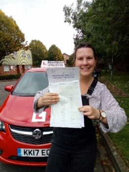 "Passed with ""ZERO"" Driving Faults <br />