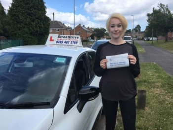 Delighted for Imogen Waring who passed her driving test today at Poole DTC 1st Attempt just FOUR driving faults<br />