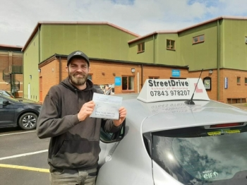 **Passed 1st Attempt, ZERO Driving Faults** <br />
