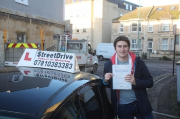 "Congratulations 'Josh Buckingham"" who passed his driving test at Chippenham DTC, we are ALL delighted for you.<br />