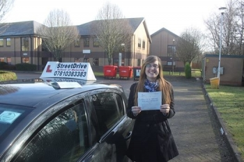 Well done to Lisa Marwood who passed her driving test 1st time today only SIX driving faults <br />