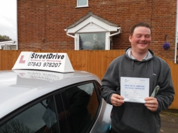 Thank you Roger for getting me through my driving test <br />