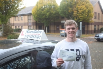 "Beep, beep, congratulations to 'Ned Sweeney' who passed his driving test at Chippenham DTC, ""1st Attempt"", just ""TWO"" driving faults, very well done.<br />