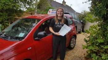 Congratulations to 'Nella Cooper' who passed her driving test today at Chippenham DTC, and '1st attempt', just TWO driving faults, fantastic news.<br />