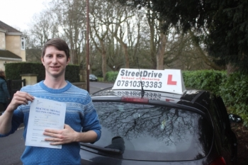Congratulations to Philip Trinks who passed his driving test with just THREE driving fault very well done<br />