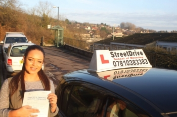 Well done to Romi Hamer-Webb who passed her driving test today with only 1 driving fault<br />