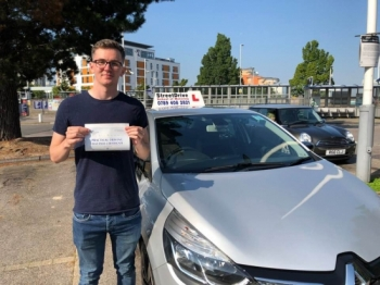"Beep, beep, move over ""Sam's"" on the road, delighted for 'Sam Jupe' who passed his driving test this morning at Poole DTC, ""1st Attempt"", just ""TWO"" driving faults, fantastic news.<br />